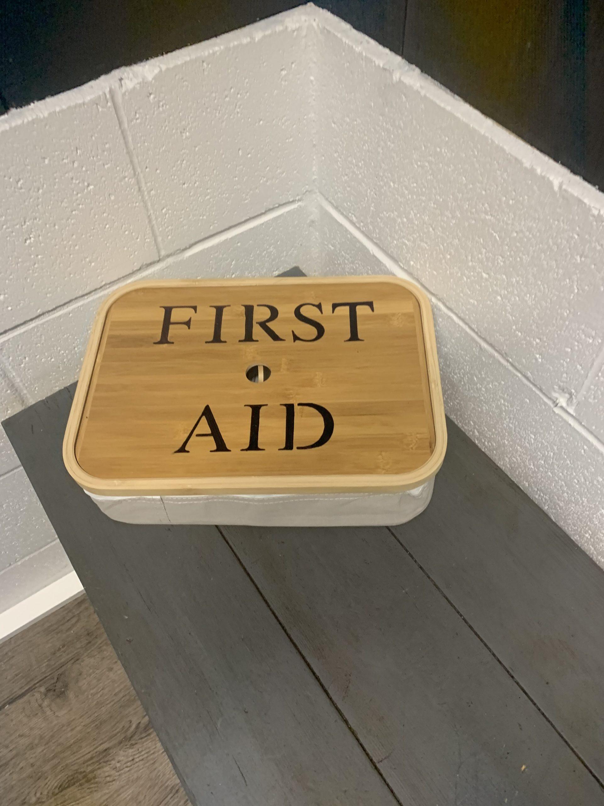 Cedar Wellness Studio First Aid