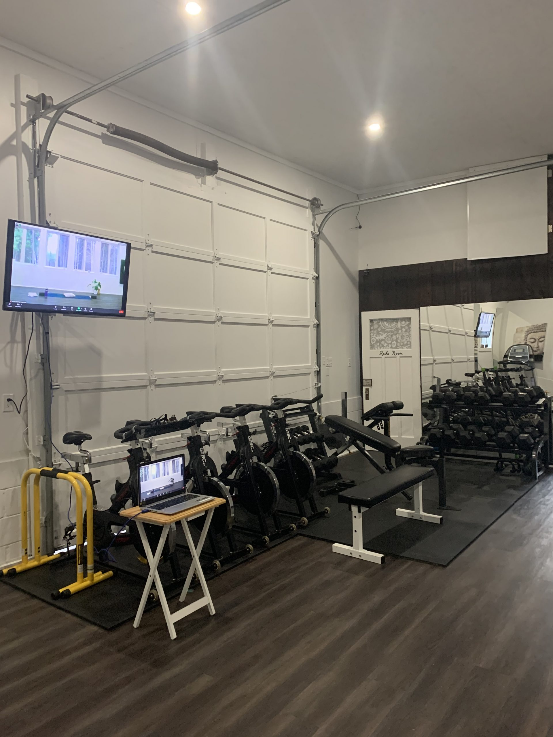 Cedar Wellness Studio Spin Bikes